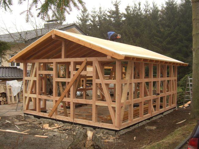 Projekt gartenhaus holzbau bruns zimmerei mechernich - Gartenhaus anbau selber bauen ...